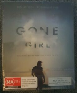Gone Girl Blu-ray + Book Brand New Sealed