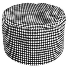 Houndstooth Chef C23 Beanie Hat Cap Skullcap Cook Hat Sous Chef Fast Shipping!