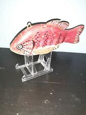 """New listing Ice Fishing Decoy Vintage 6"""" Well Made/painted"""