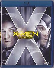 Blu Ray • X Men L'Inizio Marvel CEREBRO FASSBENDER BELLISSIMO ITALIANO