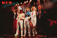POSTER - MUSIC : REO SPEEDWAGON - IN CONCERT 1981- FREE SHIPPING  !  #43  RC33 L