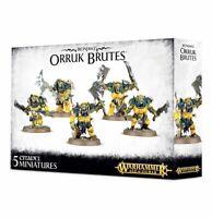 Ironjawz Orruk Brutes - Warhammer Age of Sigmar - Brand New! 89-29