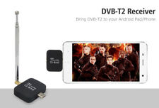 Micro USB DVB-T2 Dongle Receiver HD Digital TV Tuner Stick For Android Phone Pad