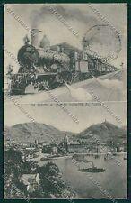 Como Città Saluti a Grande Velocità Treno cartolina EE6410
