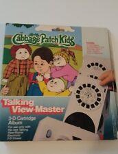 Cabbage Patch Kids Talking View-Master Electronic 3D Cartridge Reels Album 1984