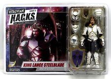 Vitruvian H.A.C.K.S. 200303 King Lance Steelblade of Accord Knight Action Figure