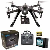 Contixo F17+ Quadcopter Drone 4K HD Camera Brushless Motors Photo Photography
