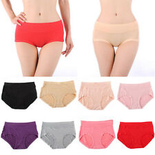 Women Underwear Sexy Soft Bamboo Fiber Antibacterial Briefs Underpants L-3XL