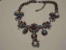 ZARA Statement Kette Blogger Collier Necklace BUNT