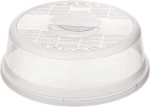 Rotho Basic Mikrowellenabdeckhaube, Kunststoff (BPA-frei), transparent