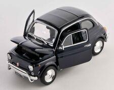 BLITZ VERSAND Fiat Nuova 500 1957 schwarz / black Welly Modell Auto 1:24 NEU OVP