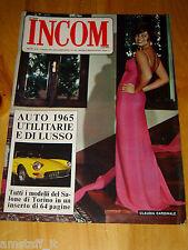 INCOM 1964/46=CLAUDIA CARDINALE=EMMA GRAMATICA=ANJA SILVA=VITTORIO GASSMAN=