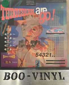 "THUNDERBIRDS ARE GO! - F.A.B. featuring M.C.Parker 7"" VINYL RECORD EX / EX"