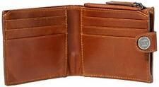 Superdry Profile Leather Wallet In A Tin Men's Wallet, Brown (Warm Tan)