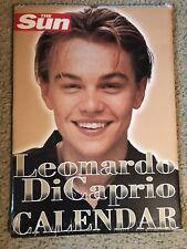 Leonardo DiCaprio VERY RARE UK Calendar SEALED NEW 1999 The Sun Titanic