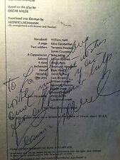 San Fransisco Opera Salome program, Sept '74, signed Leonie Rysanek