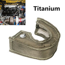 NEW Titanium Mesh Turbo Blanket Shield Barrier Heat Cover Wrap For T25 GT25 GT28