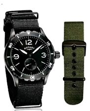 Rotary GS03074 Men's Utilitarian Stainless Steel Military Style Watch RRP £60