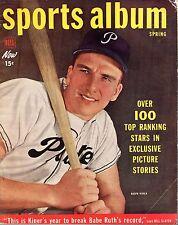1950 Dell Sports Album, Baseball magazine, Ralph Kiner, Pittsburgh Pirates~Fair
