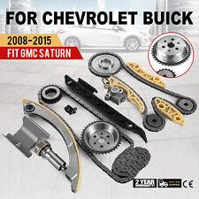 Timing Chain Kit For 2008-2015 Chevrolet Buick Saturn Equinox L4 2.0L 2.2L 2.4L (Fits: Chevrolet)