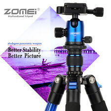 ZOMEI Q555 Pro Portable Camera Tripod Ball Head for Digital SLR DSLR Camera Blue