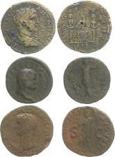 romano tempo dell'IMPERO LOTTO DI 3 monete (5) S-SS