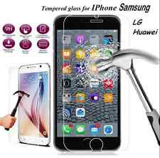 9H 2.5D Ultra Clear Tempered Glass Screen Protector For Apple Samsung LG Huawei