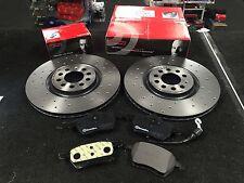 Seat Leon 2.0 TDI Front Rear Brake Pads Discs Set 287mm 255mm 180 10-1ZE Estate