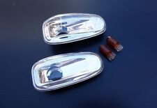 For Mercedes Benz C Class W202 S202 Chrome Clear Indicators Turn Signals