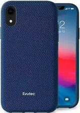 Evutec AERGO  iPhone XR Blue Ballistic Nylon Protective Case Cover & Vent Mount