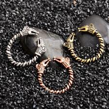Viking Fenrir Wolves Rings Norse Oath Men Finger Ring 3 Colours Punk Gothic