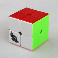 Colorful Cyclone Boys 2x2x2 Magic Cube Original Professional Stickerless New Toy