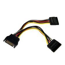 "6in Sata Power Y Splitter Cable Adapter - 6"" - Startech.com Pyo2sata"
