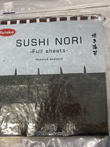Yutaka Roasted Sushi Nori Full 50 Sheets