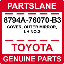 8794A-76070-B3 Toyota OEM Genuine COVER, OUTER MIRROR, LH NO.2
