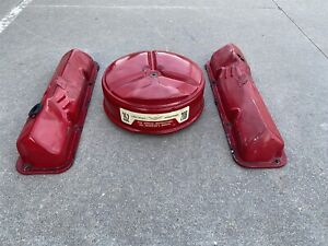 Ford FE 352 Valve Covers and Air Cleaner FOMOCO