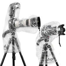 2x Camera Rain Cover for Canon Nikon DSLR Rain Sleeve Protection by Altura Photo