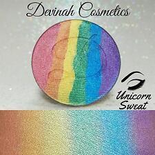 DEVINAH COSMETICS Rainbow Highlighter UNICORN SWEAT 44mm Pan SHIMMER NEW Vegan
