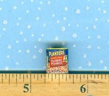 Dollhouse Miniature size salted Cocktail Peanuts Food Can