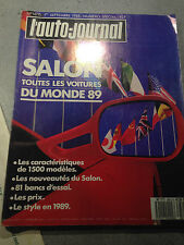 AUTO JOURNAL SPECIAL SALON 89