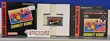 DONEY KONG Nes classique Gameboy Advance scellé avec des instructions en boîte