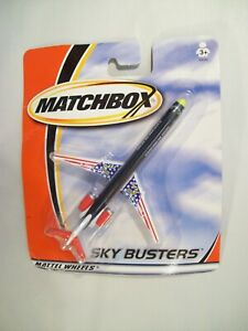 NEW MATCHBOX SKY BUSTERS D.A.R.E MD-90 DIE-CAST JET AIRPLANE 2001 RESIST DRUGS