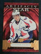 2009-10 09/10 Artifacts Star #136 Alex Ovechkin Washington Capitals / 999