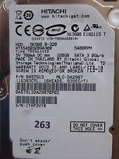 320GB Hitachi HTS545032B9A300 | 0A57913 | DA2987 | 220 0A90161 01 #263