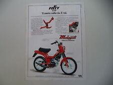 advertising Pubblicità 1982 MALAGUTI FIFTY TOP 50