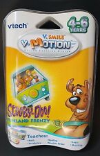 Vtech V-Smile Motion Active Learning System Scooby Doo Funland Frenzy Teaching