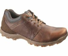 Caterpillar Mens Brown Leather Stitched Heavy Duty Shoes From Debenhams UK 6 7559516