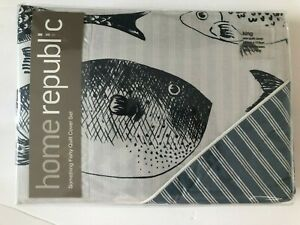 Home Republic Something Fishy KING size Quilt Cover Set $159.99