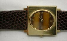 LOVELY GENTS OR LADIES 18CT SOLID GOLD VINTAGE 1970s BAUME MERCIER WRISTWATCH
