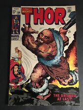 Thor #158 Orgin Don Blake 7.5 Vf- White Pages